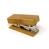 "Bamboo Mini Stapler - 7/8"" x 2 1/4"""