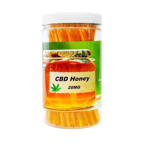 CBD OIL HONEY STICKS 2000MG (ORGANIC)