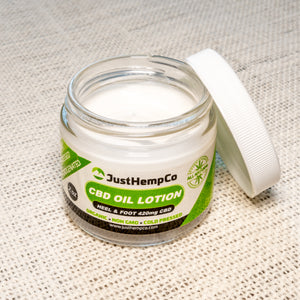 CBD LOTION 420MG HEEL AND FOOT