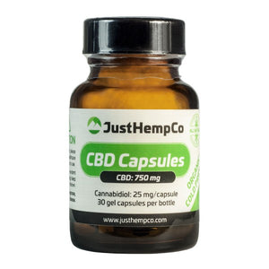 CBD OIL CAPSULES 750MG