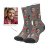 Custom Heart Socks - GesichtSocken