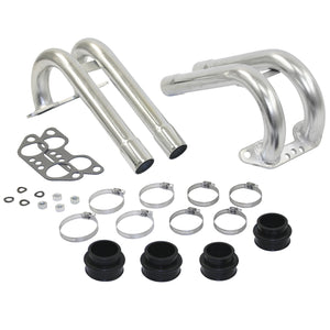 TYPE 4 INTAKE MANIFOLD END RUNNERS FOR SINGLE PROGRESSIVE WEBER/EMPI CARBS