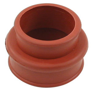 RED RUBBER INTAKE BOOT VW BUG DUAL PORT END CASTING/MANIFOLD, EACH
