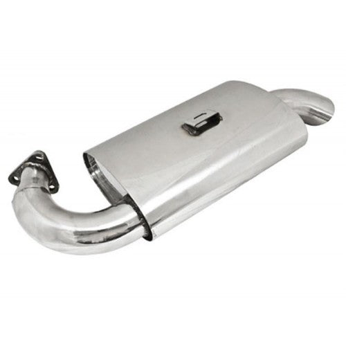 STAINLESS STEEL PHAT BOY MUFFLER FOR P/N 3767 EXTRACTOR