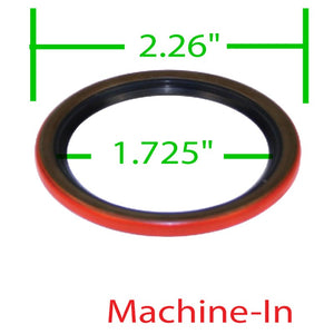 Replacement Sand Seal, Machine In Style, Fits EMPI Brand. 00-8694-0