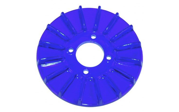 PULLEY COVER, BLUE