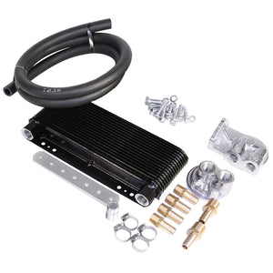 MESA TRU COOL 24 PLATE OIL COOLER KIT WITH BYPASS ADAPTER