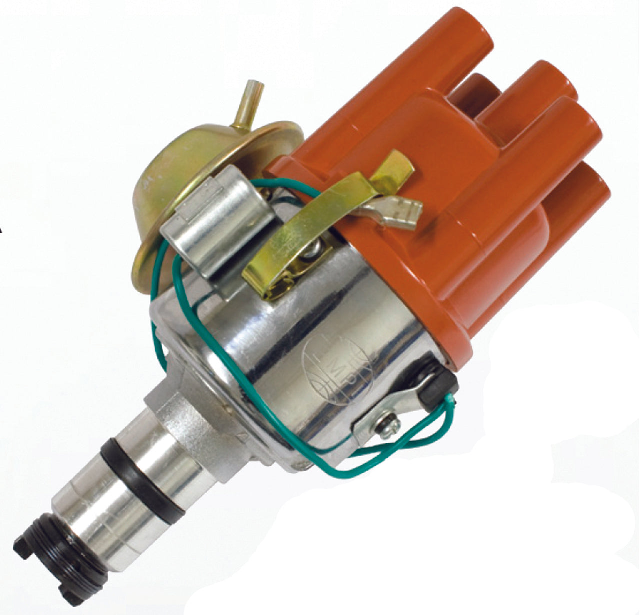 CHROME VACUUM ADVANCE DISTRIBUTOR FOR EARLY VW AIR-COOLED ENGINES