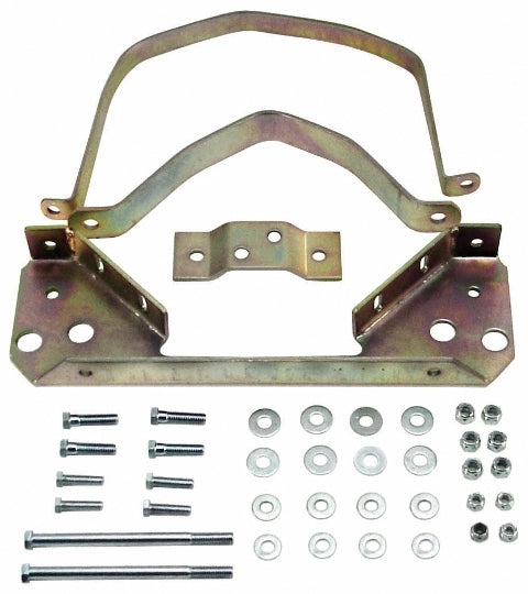 SOLID STEEL TRANS STRAP KIT