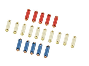 Fuse Kit, Ceramic, Includes 10-8AMP, 5-16AMP, 5-25AMP  00-9926-0