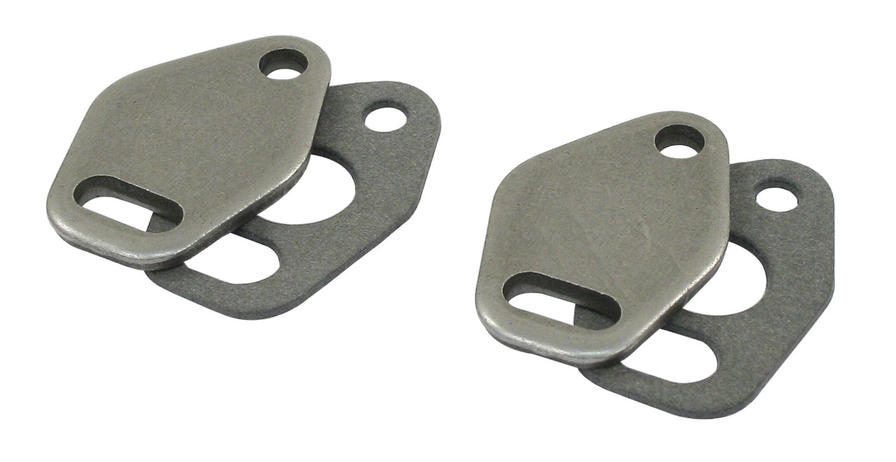 HEAT RISER BLOCK-OFFS, PAIR