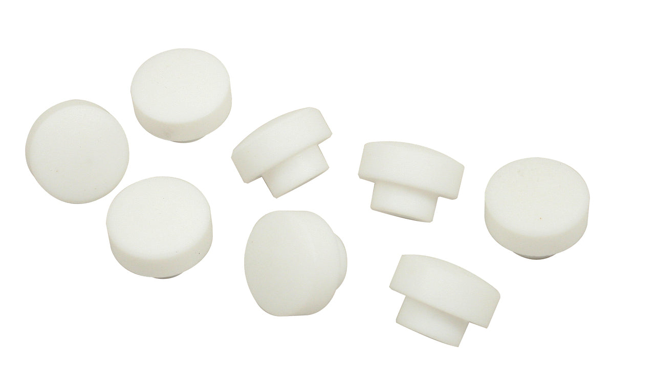 WRIST PIN TEFLON BUTTONS 92MM VW AIR-COOLED PISTONS SET OF 8