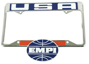 EMPI LICENSE PLATE FRAME REAR
