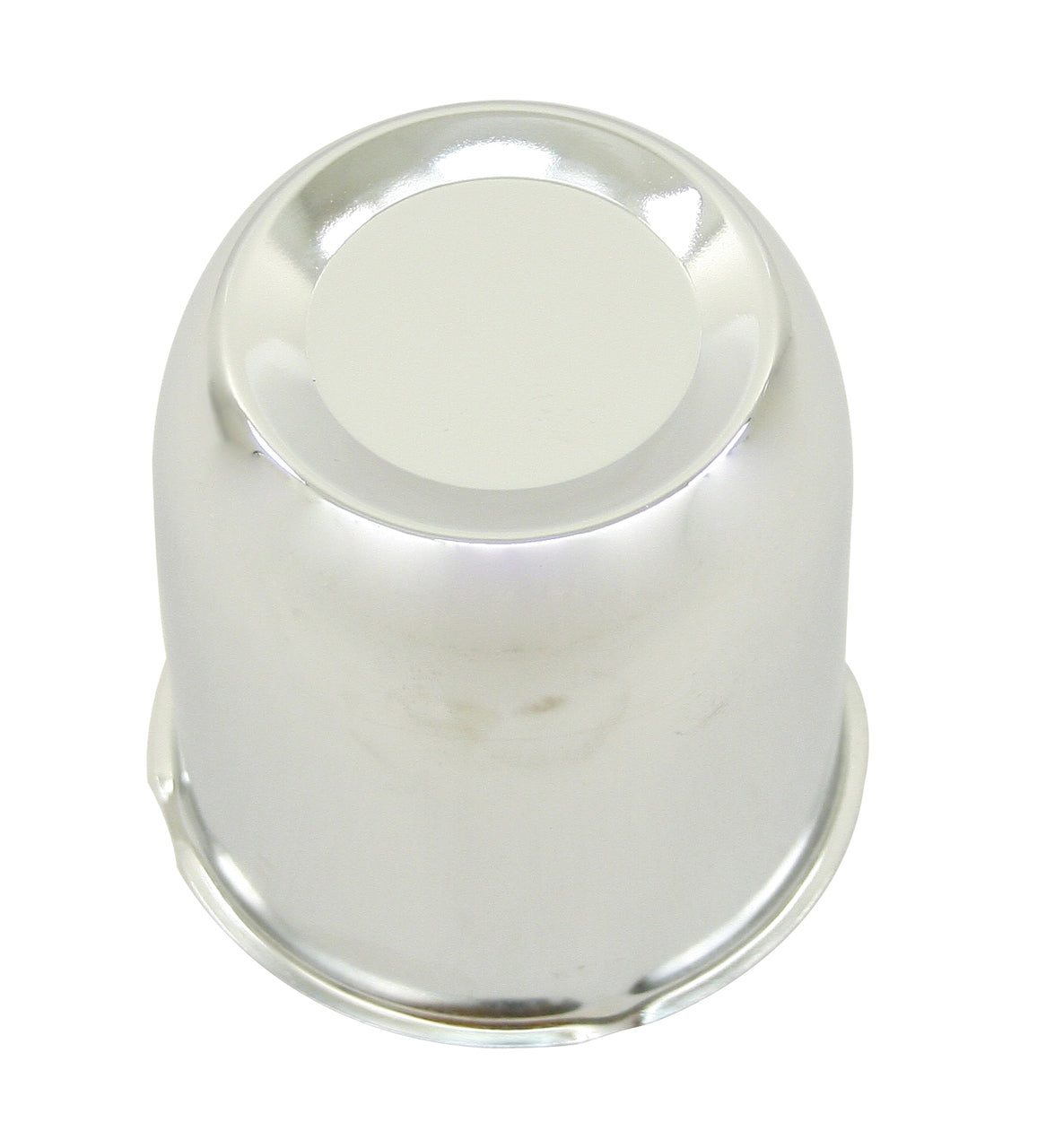 "CHROME CENTER WHEEL CAP-FITS ALL WHEELS WITH 3-1/4"" HOLE"