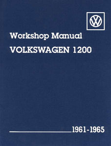 VW TECH BOOK 61-65 1200CC
