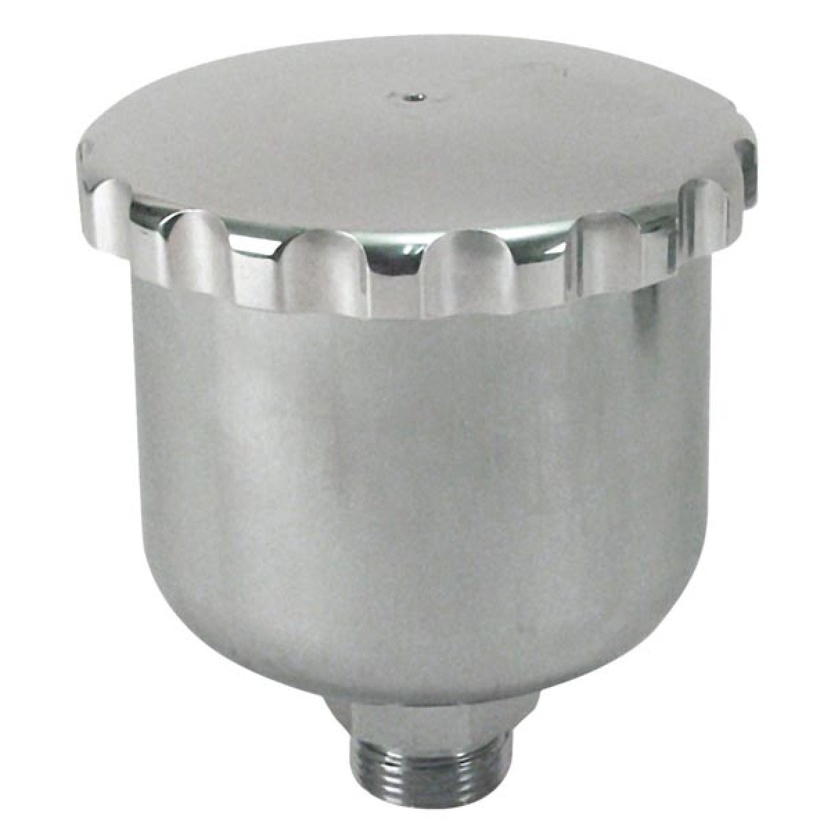 POLISHED ALUMINUM BUGGY MASTER CYLINDER RESERVOIR WITH CAP