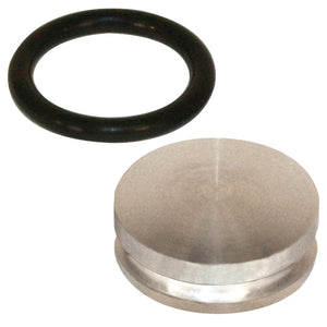 ALUMINUM CAM PLUG WITH O-RING FOR AIR-COOLED VW ENGINE