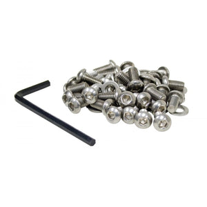 Shroud Screw Kit Stainless Steel for VW Cooling Tins