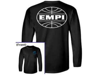 EMPI Equipped Black Long Sleeve T-Shirt