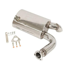 Sideflow Muffler, Stainless, Fits Our 00-3255-0
