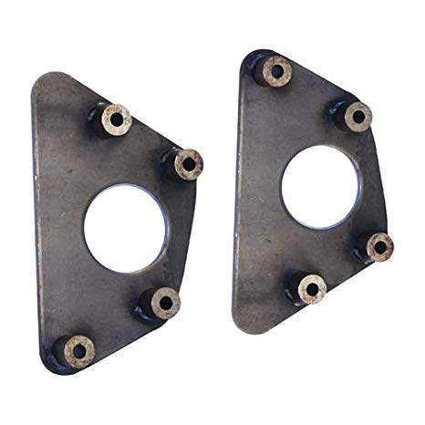 LONG TRAVEL TORSION TUBE INNER END PLATES, VW BAJA DUNE BUGGY, PAIR