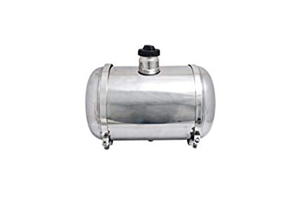 "STAINLESS STEEL 10"" X 16"" GAS TANK - 10"" DIAMETER 16"" LONG CENTER FILL"