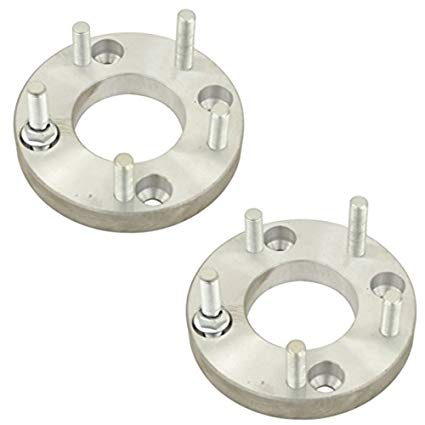 WHEEL ADAPTER 4 LUG VW BUG DRUM TO 5 LUG PORSCHE WHEEL, PAIR