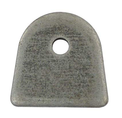 "FLAT MOUNT TAB,1/4"" HOLE, 4"