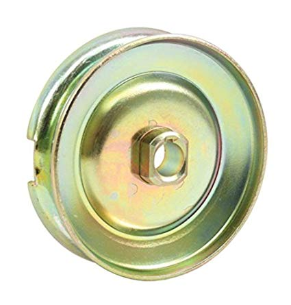 12V GEN/ALT PULLEY,GOLD ZINC 0-9166-0
