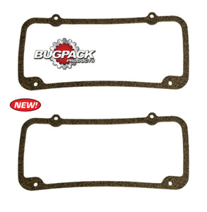 Bugpack Angle Flo Cork Valve Cover Gaskets, Pair