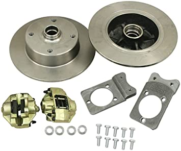 VW BUG BALL JOINT FRONT DISC BRAKE KIT, 4 LUG VW PATTERN