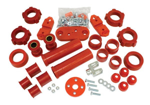 URETHANE TOTAL SUSPENSION REBUILD KIT, TYPE 1, 66-72, RED