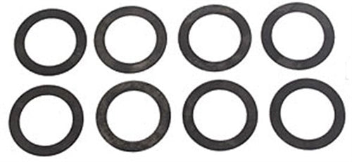 HARDENED SINGLE VALVE SPRING SHIMS - .015 - SET OF 8