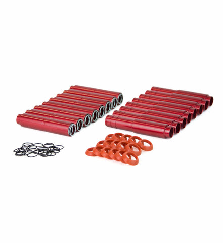 MST Push Rod Tubes Red
