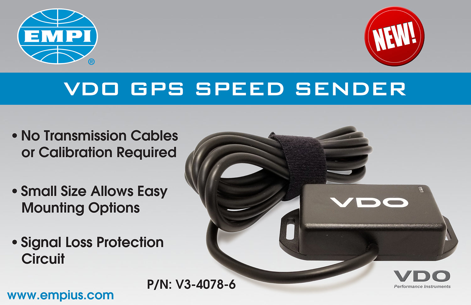 SENDER SPEED GPS