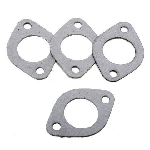 "EXHAUST PORT METAL GASKET, VW HEAD TO 1-1/2"" HEADER FLANGE, SET 4"