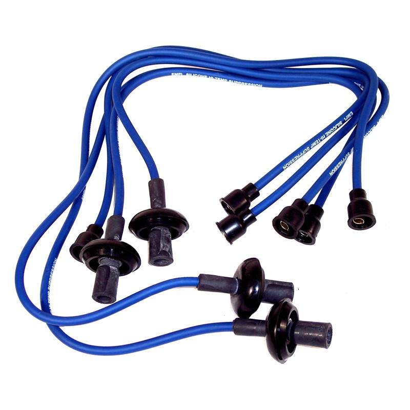 SILICONE WIRES BLUE COPPER