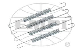 REPLACEMENT SPRINGS FOR VW EXHAUST COLLECTORS, SET OF 4