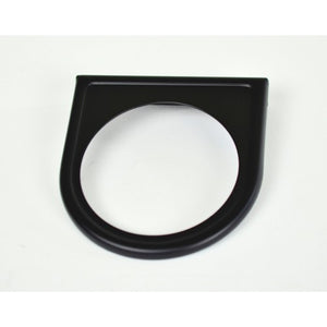 1 Hole Gauge Panel, Black For 2-1/16