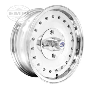 "Smoothie Wheel Polished, 5.5"" Wide, 4 on 130mm VW"