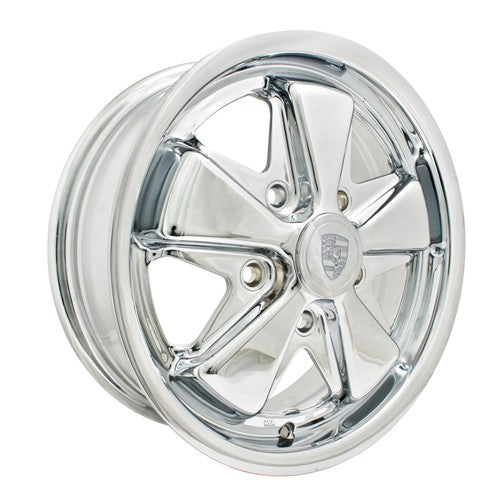 "911 Alloy Wheels All Chrome, 4.5"" Wide, 5 on 205mm"