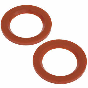 "URETHANE FLANGE ONLY GROMMETS, 1-7/8"" X .187"" PAIR"