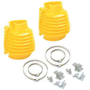 SWING AXLE BOOT, YELLOW PAIR