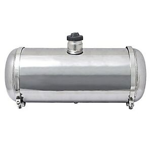 "STAINLESS STEEL 10"" X 40"" GAS TANK - 10"" DIAMETER 40"" LONG CENTER FILL"