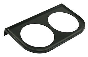 METAL MOUNT BRACKET, BLACK,2-HOLE