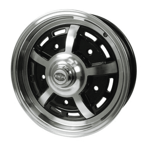 EMPI Sprintstar WHEELS 5 X 15 5X205 Black/POLISH BUG GHIA BUS TYPE 2