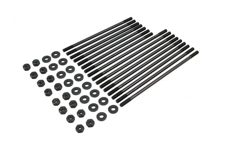 Single Port 8mm Chromoly Case Stud Kit