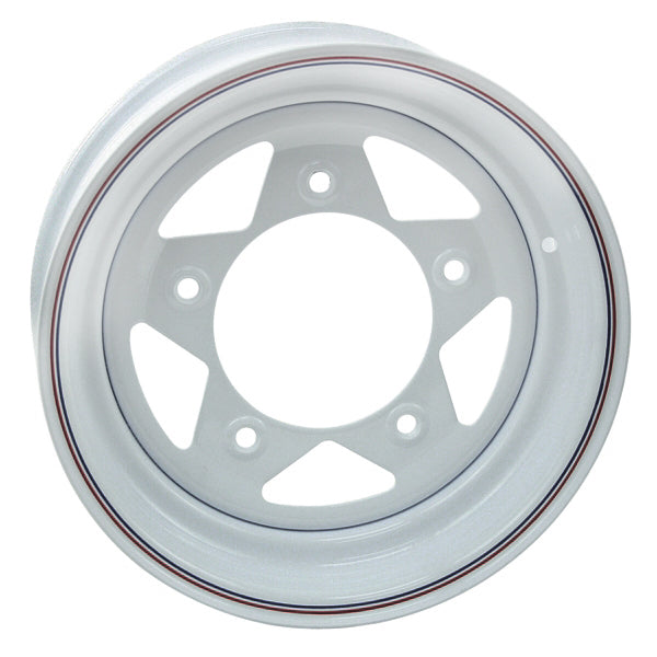 "WHITE SPOKE 5 LUG, 7"" WIDE"