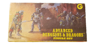 1980 Advanced Dungeons and Dragons #2011 Orc's Lair Figure Set