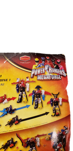 2012 Power Rangers MegaForce Sea Brothers Zord Vehicle And Blue Ranger